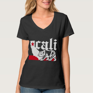Vintage California Bear Flag (distressed) Tee Shirt