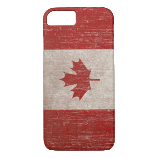 Vintage Canada Flag iPhone 7 Case