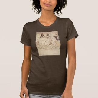 Vintage Fairy Tales, Cinderella by Arthur Rackham T-shirts