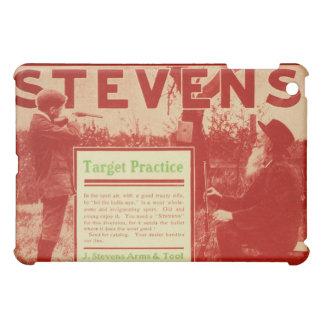 Vintage J Stevens Firearm Red Apple iPad Mini Case