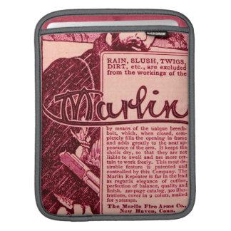 Vintage Marlin Firearms Pink Gun Ad iPad Sleeve
