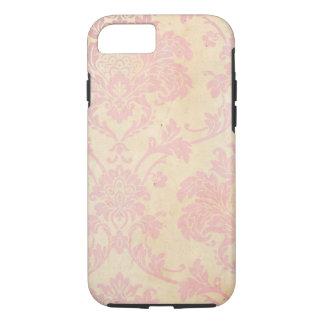 Vintage Pink Damask iPhone 7 Case