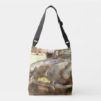 Vintage Rally Car Tote Bag