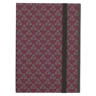 Vintage Red Floral Pattern iPad Air Covers