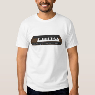 Vintage Synthesizer: 3D Model: Tshirt