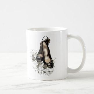 Vintageshoes Classic White Coffee Mug