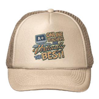 Virtually the Best Online Teacher Trucker Hat