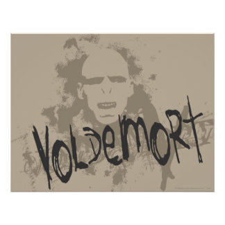 Voldemort Dark Arts Graphic Poster