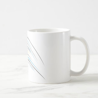 Volleyball Swish Classic White Coffee Mug