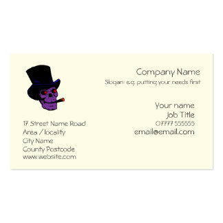 Voodoo business card templates