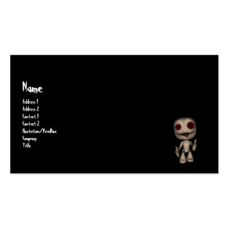 Voodoo Dolly Business Card