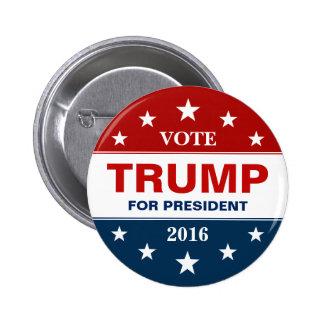 Vote Donald Trump for President 2016 Campaign 2 Inch Round Button