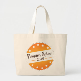 Vote Pumpkin Spice Jumbo Tote Bag