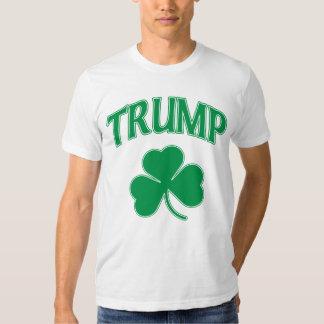 Vote Trump 2016 Irish Shamrock T Shirt