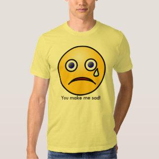 Vous me faites le T-shirt triste