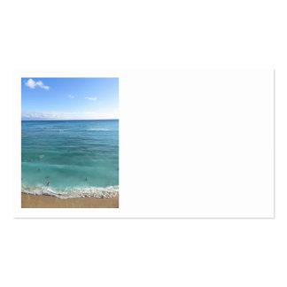 Waikiki Beach Business Card