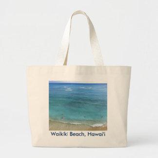 Waikiki Beach Jumbo Tote Bag