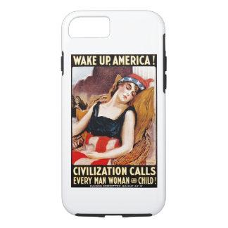 Wake Up America iPhone 7 Case