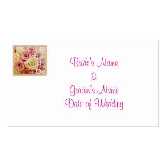 Wedding Address Cards Template Business Card