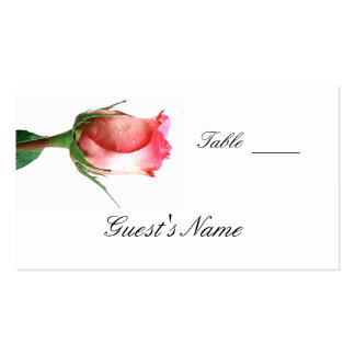 Wedding  Seating Card Template Business Card
