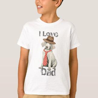 Weimaraner Dad Tee Shirt