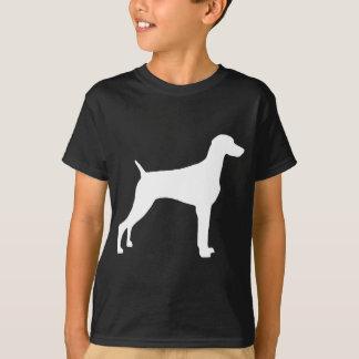 Weimaraner Dog (in white) Tee Shirts