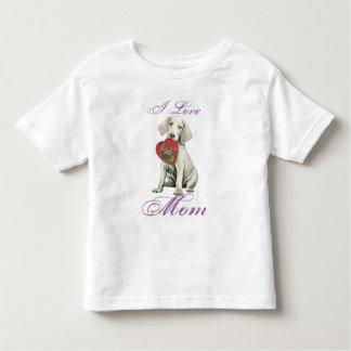 Weimaraner Heart Mom T-shirt