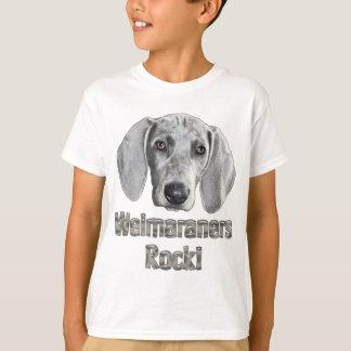 Weimaraner-Izzie Tee Shirts