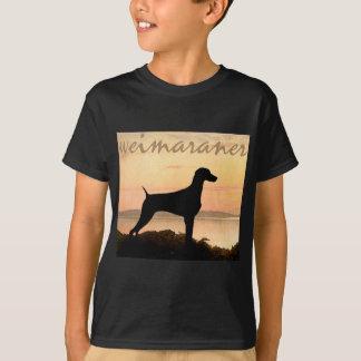 Weimaraner Sunset Shirts