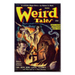 Weird Tales Comic Poster March