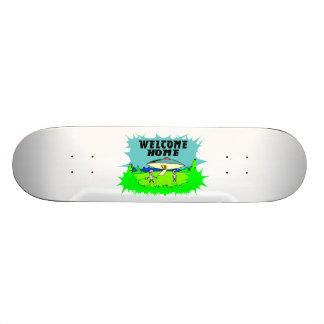 Welcome Home Aliens Skate Deck