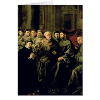 Welcoming St. Bonaventure into the Franciscan Greeting Card