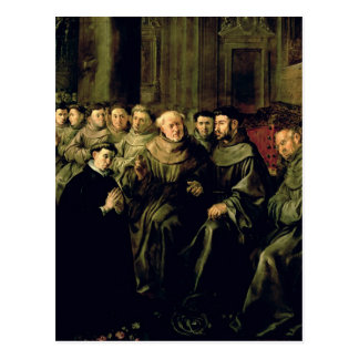Welcoming St. Bonaventure into the Franciscan Postcard