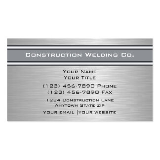 Welding Business Cards