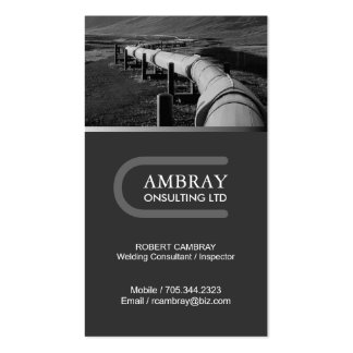 Welding Consultant Business Card