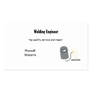 Welding Services Business Card