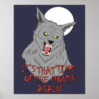 "Werewolf 20"" x 16"", Value Poster Paper (Matte)"