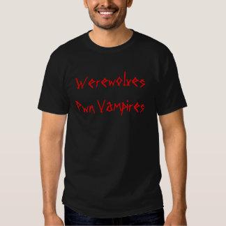 Werewolves Pwn Vampires T-shirts