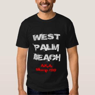 WEST PALM BEACH AKA Slump City Tee Shirts