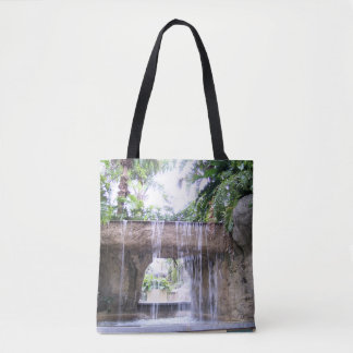 West Palm Beach Waterfall Tote Bag