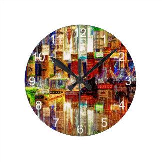 Wet Bar Abstract Clock