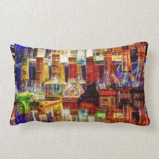 Wet Bar Abstract Pillow