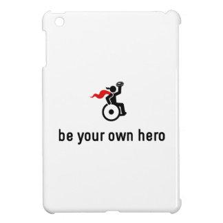 Wheelchair Rugby Hero iPad Mini Cover