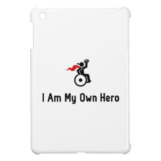 Wheelchair Rugby Hero iPad Mini Covers