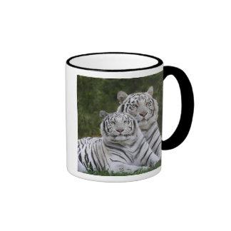 White phase, Bengal Tiger, Tigris Ringer Coffee Mug