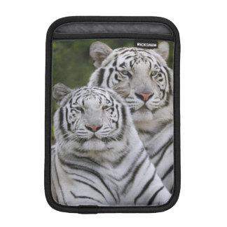 White phase, Bengal Tiger, Tigris Sleeve For iPad Mini