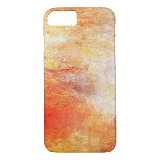 William Turner Sun Setting Over A Lake iPhone 7 Case