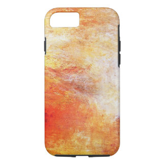 William Turner Sun Setting Over A Lake Vintage iPhone 7 Case