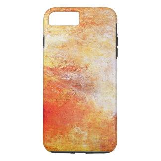William Turner Sun Setting Over A Lake Vintage iPhone 7 Plus Case