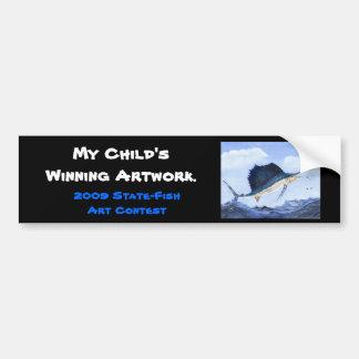 Winning artwork by M. Howard, Grade 6 Bumper Sticker